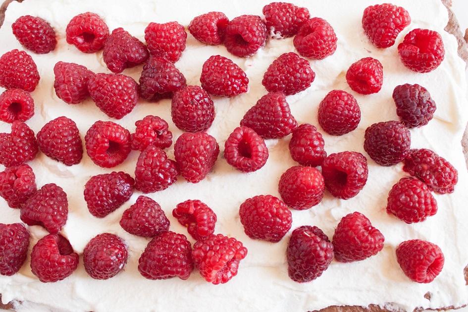 Cream and Raspberries filling