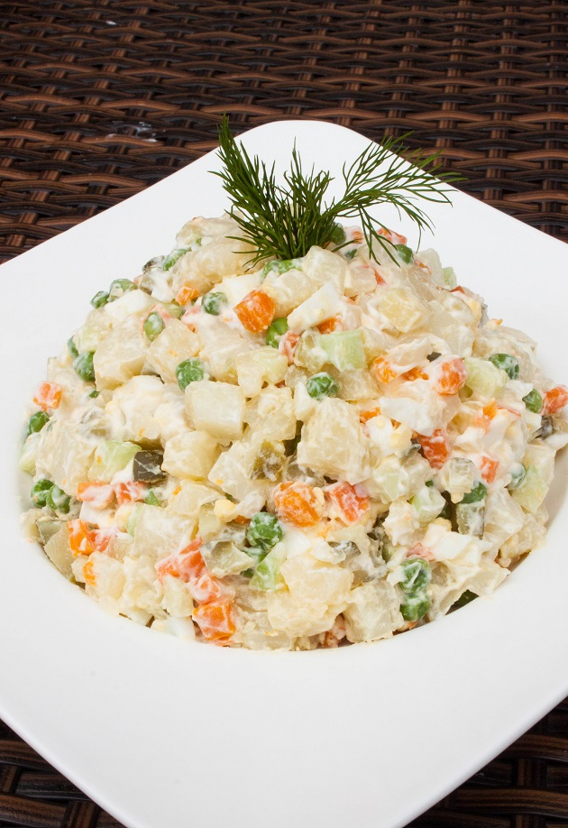 Russian Potato Salad Olivie