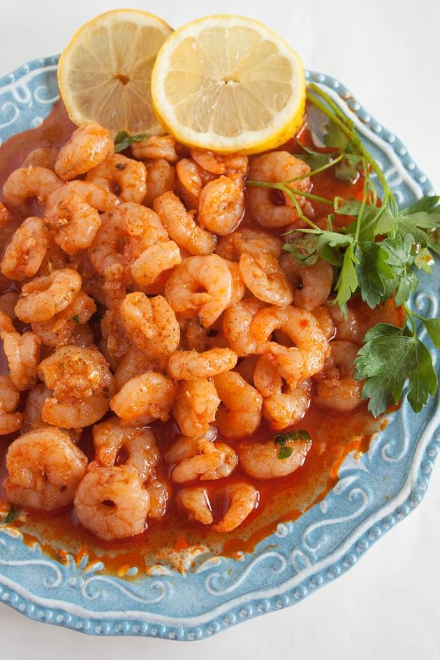 Delicious Spicy Shrimp