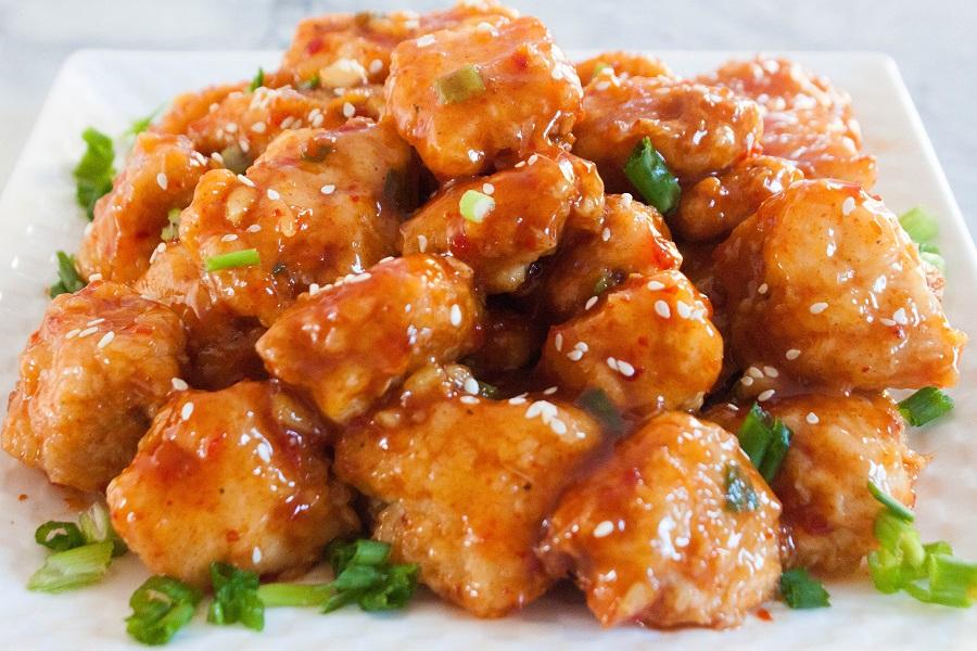 Delicious spicy Tai Chicken