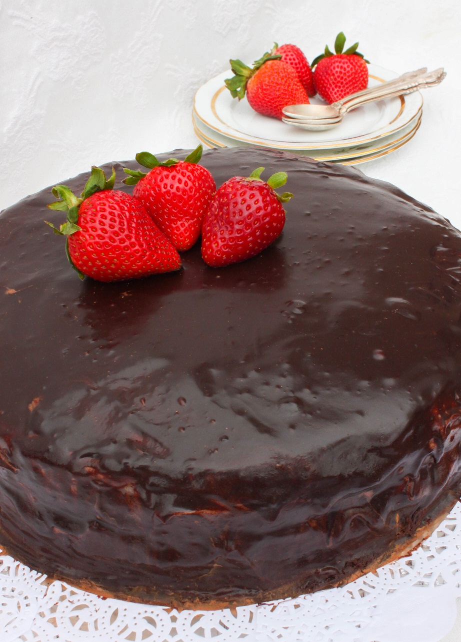 Rich Chocolate Layer Cake For Ultimate Chocolate Lovers!