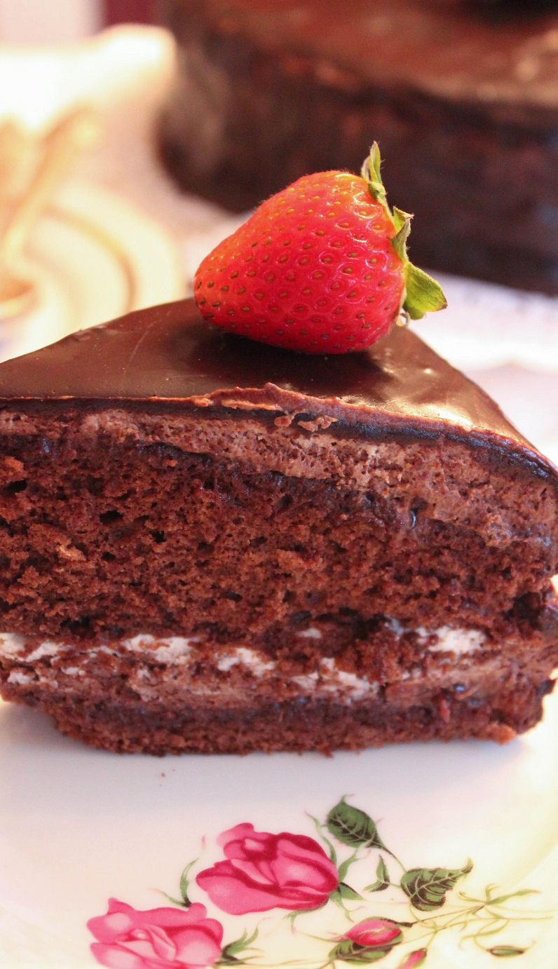 The Best Chocolate Cake for Real Chocolate Lovers!