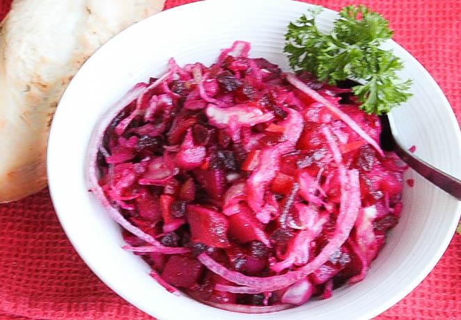 Russian salad Vinegrette