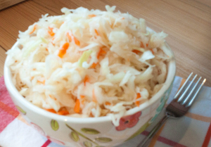 Delicious and tasty homemade Sauerkraut - great appetizer, side dish or an addition to a salad!