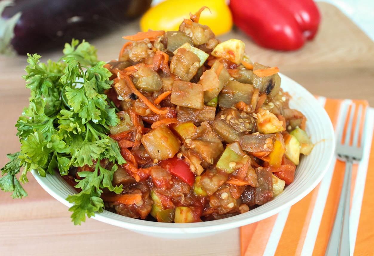 Sauté Vegetables - piquant appetizer and delicious side dish