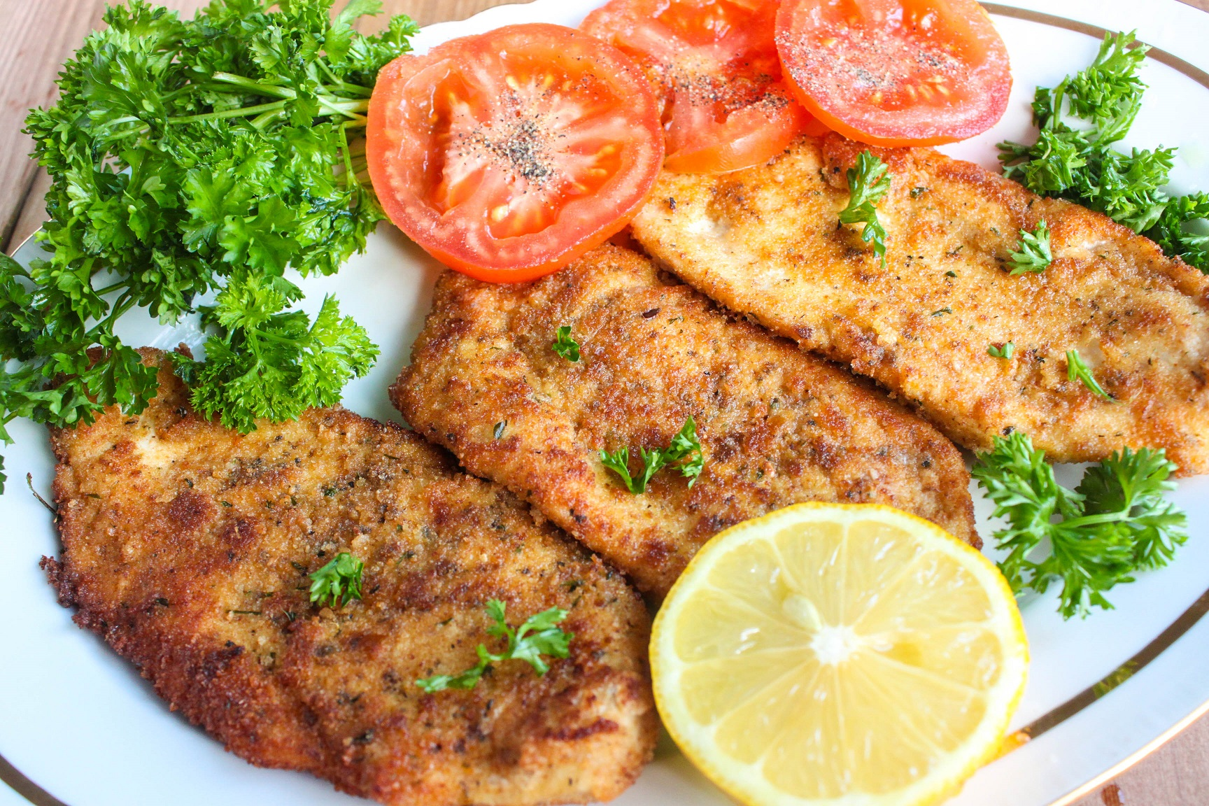 Juicy and flavorful Chicken Chops - easy to make family favorite!