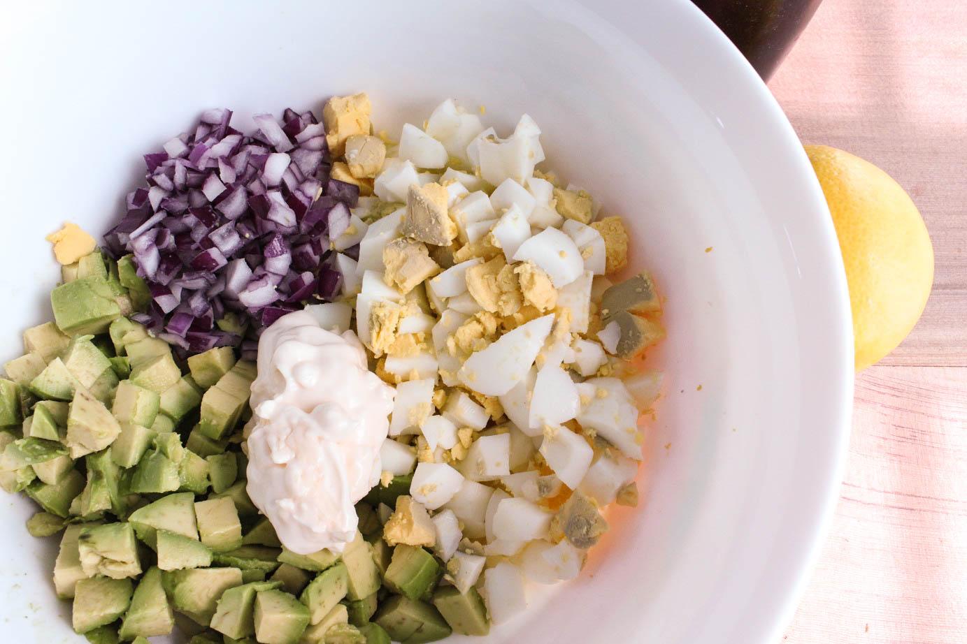 Avocado and Egg Salad