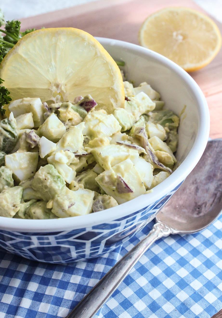 Easy and Delicious Avocado Egg Salad